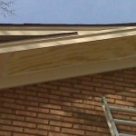 Eave and soffit repairs