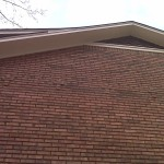 Finished eave soffit repair
