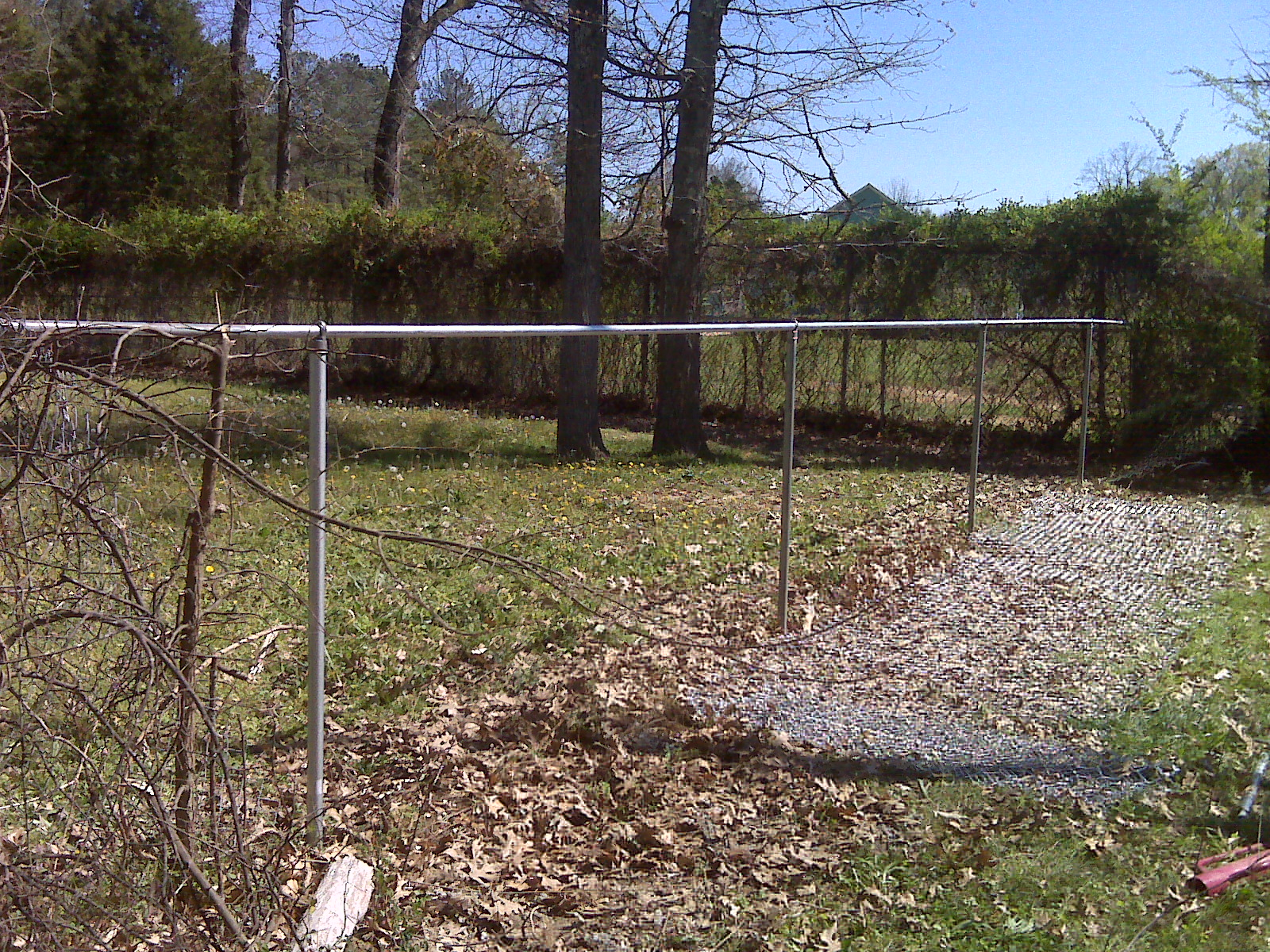 The Birmingham Handyman Chain Link Fence Replacement