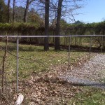 Chain Link Fence Repair Top Rail and Posts