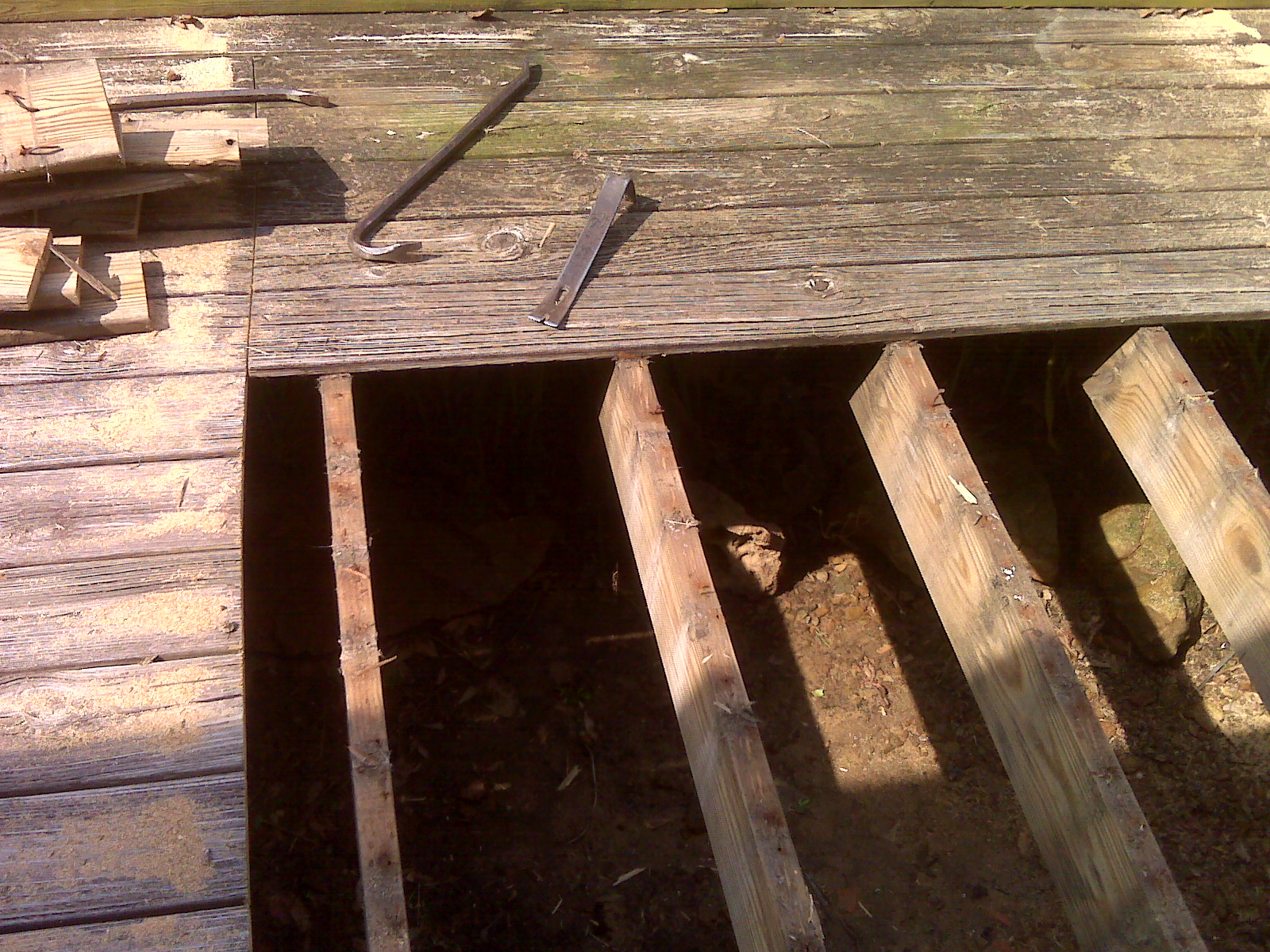 The Birmingham Handyman Wood Deck Repair Birmingham
