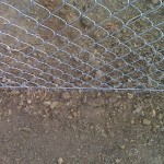 tension wire on chain link fence