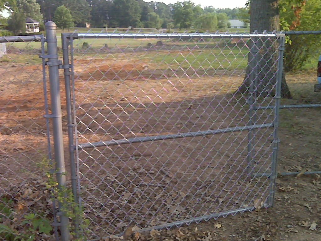 The Birmingham Handyman Chain Link Fence Installation