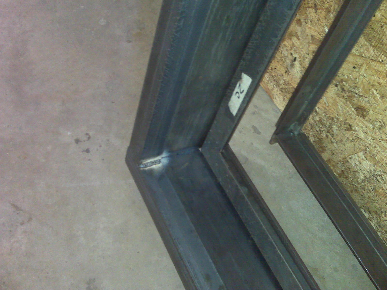 The Birmingham Handyman - Steel Window Frame