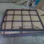 New steel window sash