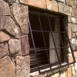 Steel Window Welded In Frame