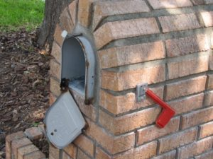 Brick Mailbox Replacement Door