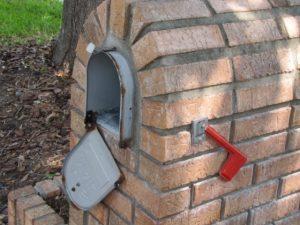 Brick Mailbox Replacement Door