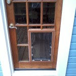 The birmingham handyman pet door installation birmingham al - Interior door with pet door installed ...
