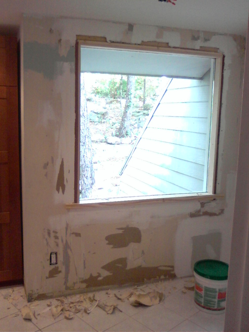 The Birmingham Handyman Drywall Repair Around Window