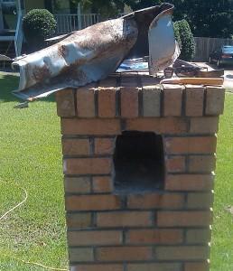 brick mailbox door replacement