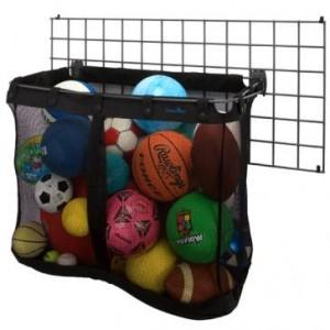 Garage Wall Storage Big Mesh Sports Basket