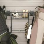 Garage Wall Storage Golf Rack & Basket