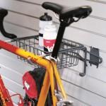 Garage Wall Storage Bike Rack & Basket