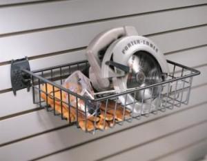 Garage Wall Storage Wire Basket