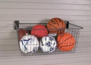 Garage Wall Storage Deep Basket