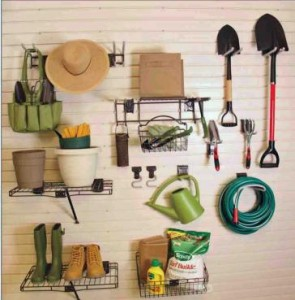 Garage Wall Storage Garden Center Kit