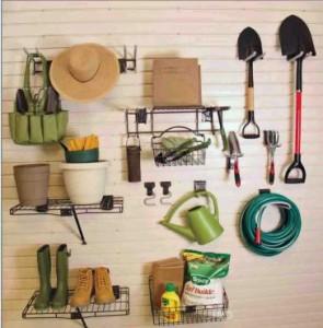 Garage Wall Storage Garden Center Kit
