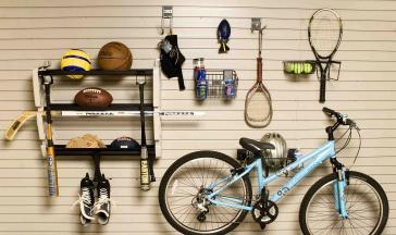 Garage Wall Storage Sport Accessory Kit