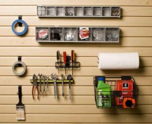 Garage Wall Storage Work Bench Accessory Kit