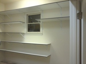Garage Shelving Cusom Installation