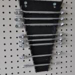 Garage Wall Storage Wrench Organizer