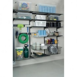 Garage Storage Kits FR Shelf Basket Kit