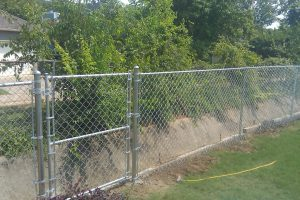 chain link fence replaced