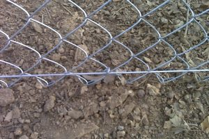 chain link fence tension wire