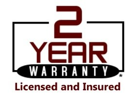 Industry leading 2 year Written warranty on Workmanship